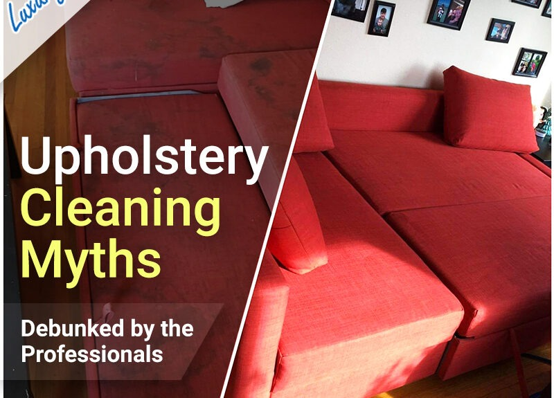 Major Upholstery Cleaning Myths Debunked by the Professionals