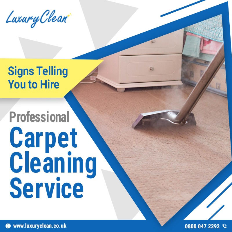 Signs Telling You to Hire Professional Carpet Cleaning Service