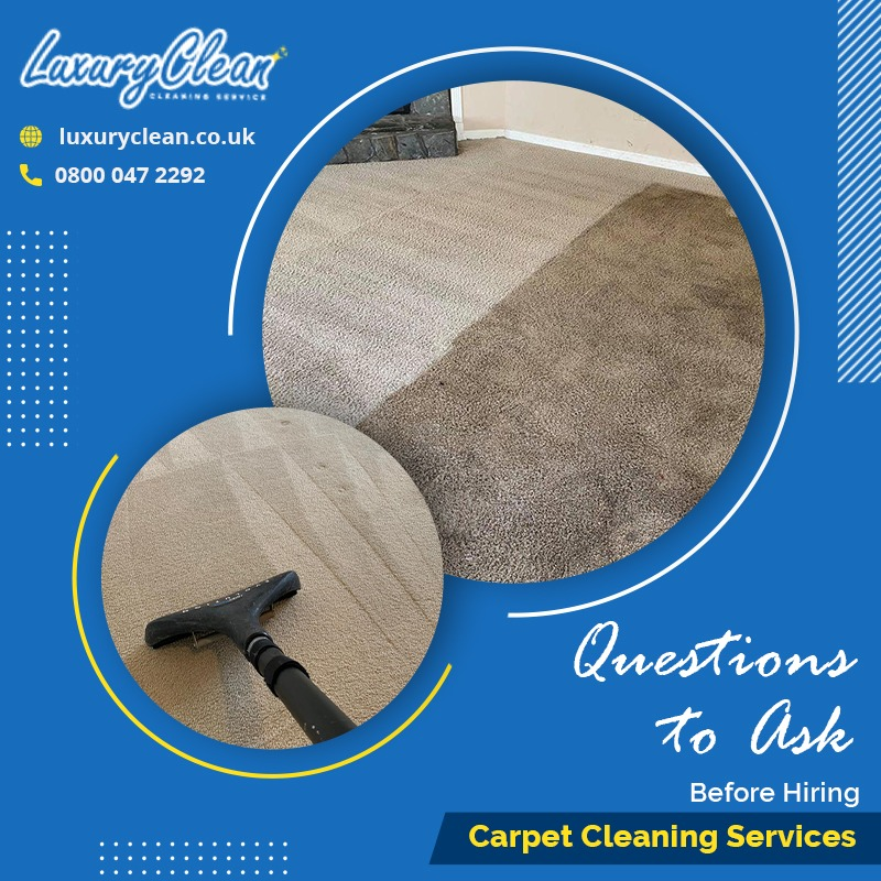 4 Questions to Ask Before You book in with a Carpet Cleaning Company