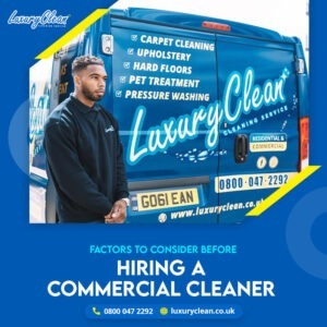 Points to Consider before Hiring a Commercial Carpet Cleaner