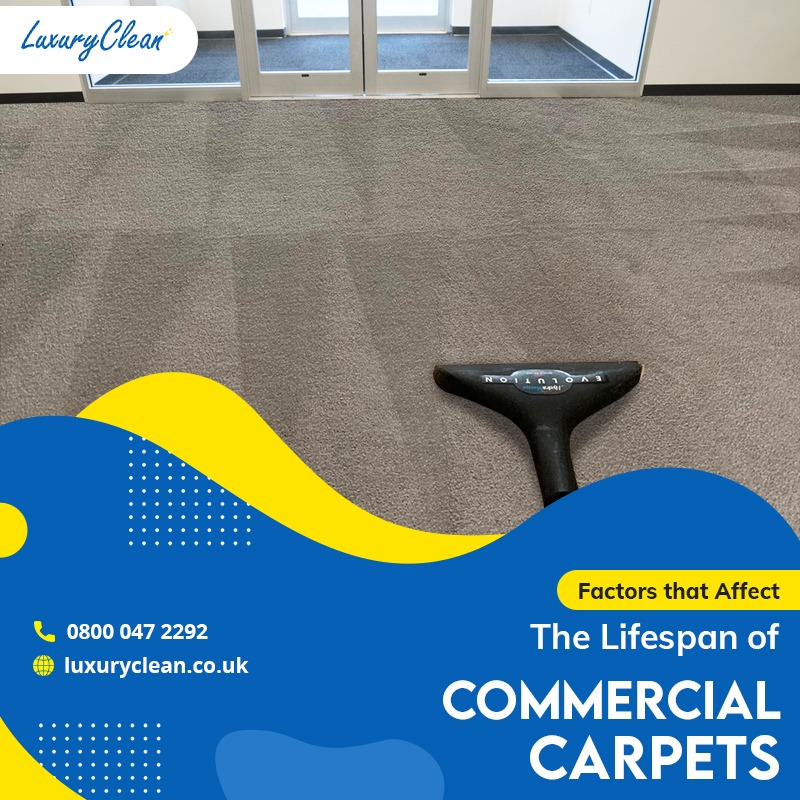 A List of Factors that Affect Lifespan of Commercial Carpets