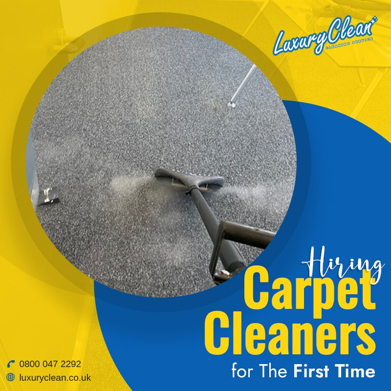 Are you Hiring Carpet Cleaners for the First Time? Expect Top 4 Things
