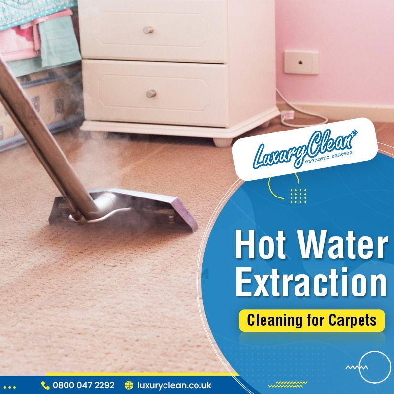 Why is the Hot Water Extraction Best for Carpet Cleaning