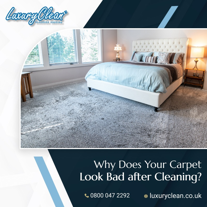 Does Your Carpet Look Worse after Cleaning? Here's Why…